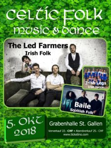 Celtic Folk Music and Dance @ Grabenhalle St. Gallen